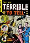 Cover for Tales Too Terrible to Tell (New England Comics, 1989 series) #2