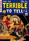 Cover for Tales Too Terrible to Tell (New England Comics, 1989 series) #5