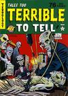 Cover for Tales Too Terrible to Tell (New England Comics, 1989 series) #7