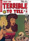 Cover for Tales Too Terrible to Tell (New England Comics, 1989 series) #8