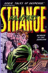 Cover Thumbnail for Strange Fantasy (Farrell, 1952 series) #4