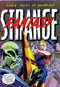 Cover Thumbnail for Strange Fantasy (Farrell, 1952 series) #6