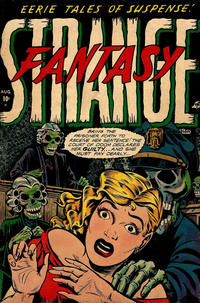 Cover Thumbnail for Strange Fantasy (Farrell, 1952 series) #7