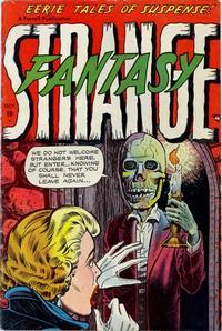 Cover Thumbnail for Strange Fantasy (Farrell, 1952 series) #8
