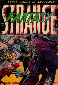 Cover Thumbnail for Strange Fantasy (Farrell, 1952 series) #11