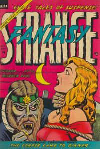 Cover Thumbnail for Strange Fantasy (Farrell, 1952 series) #13