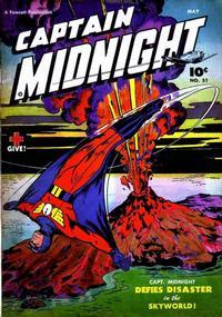 Cover Thumbnail for Captain Midnight (Fawcett, 1942 series) #51