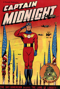 Cover Thumbnail for Captain Midnight (Fawcett, 1942 series) #65