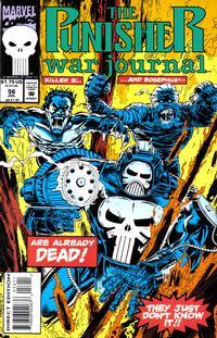 Cover Thumbnail for The Punisher War Journal (Marvel, 1988 series) #56