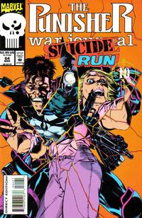 Cover Thumbnail for The Punisher War Journal (Marvel, 1988 series) #64 [Direct Edition - Deluxe - Die-Cut Cover]
