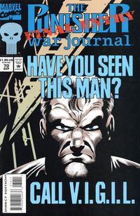 Cover Thumbnail for The Punisher War Journal (Marvel, 1988 series) #70