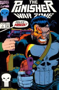 Cover Thumbnail for The Punisher: War Zone (Marvel, 1992 series) #7 [Direct]