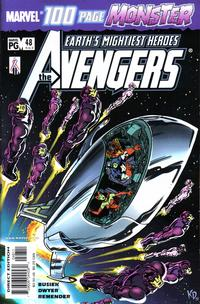 Cover Thumbnail for Avengers (Marvel, 1998 series) #48 (463) [Direct Edition]
