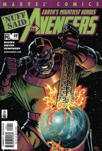 Cover Thumbnail for Avengers (Marvel, 1998 series) #49 (464) [Direct Edition]