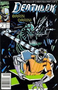 Cover Thumbnail for Deathlok (Marvel, 1991 series) #4 [Newsstand]