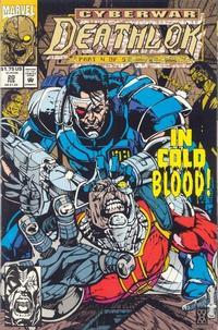 Cover Thumbnail for Deathlok (Marvel, 1991 series) #20 [Direct]