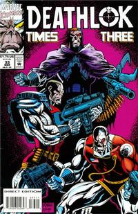 Cover for Deathlok (Marvel, 1991 series) #33