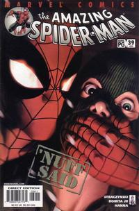 Cover Thumbnail for The Amazing Spider-Man (Marvel, 1999 series) #39 (480) [Direct Edition]