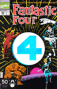 Cover Thumbnail for Fantastic Four (Marvel, 1961 series) #358 [Direct]