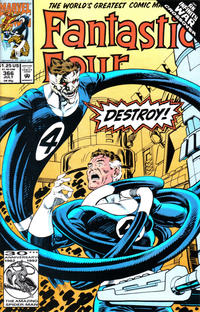 Cover Thumbnail for Fantastic Four (Marvel, 1961 series) #366 [Direct]