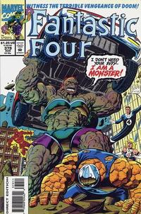 Cover Thumbnail for Fantastic Four (Marvel, 1961 series) #379 [Direct Edition]