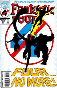 Cover Thumbnail for Fantastic Four (Marvel, 1961 series) #381 [Direct Edition]