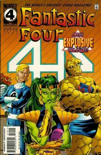Cover Thumbnail for Fantastic Four (Marvel, 1961 series) #410 [Newsstand Edition]