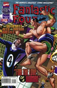 Cover for Fantastic Four (Marvel, 1961 series) #412 [Direct Edition]