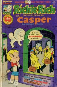 Cover Thumbnail for Richie Rich & Casper (Harvey, 1974 series) #6