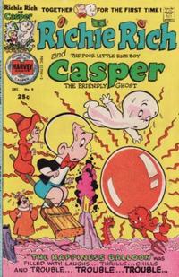Cover Thumbnail for Richie Rich & Casper (Harvey, 1974 series) #9