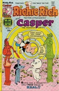 Cover Thumbnail for Richie Rich & Casper (Harvey, 1974 series) #16