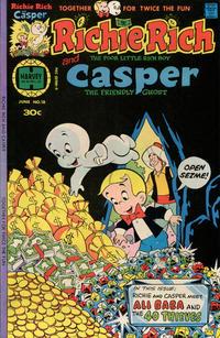 Cover Thumbnail for Richie Rich & Casper (Harvey, 1974 series) #18