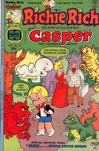 Cover Thumbnail for Richie Rich & Casper (Harvey, 1974 series) #19
