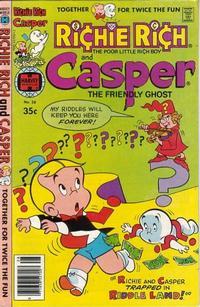 Cover Thumbnail for Richie Rich & Casper (Harvey, 1974 series) #28