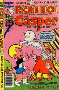 Cover Thumbnail for Richie Rich & Casper (Harvey, 1974 series) #30