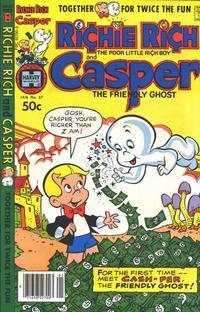 Cover Thumbnail for Richie Rich & Casper (Harvey, 1974 series) #37