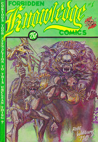 Cover Thumbnail for Forbidden Knowledge (Last Gasp, 1975 series) #1 [First Printing]