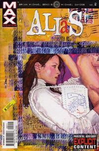 Cover for Alias (Marvel, 2001 series) #2