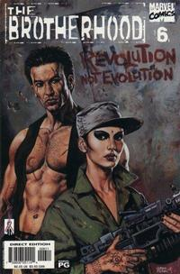 Cover Thumbnail for The Brotherhood (Marvel, 2001 series) #6 [Direct Edition]