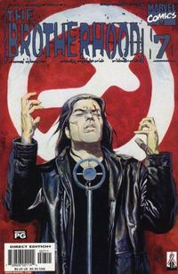 Cover Thumbnail for The Brotherhood (Marvel, 2001 series) #7 [Direct Edition]