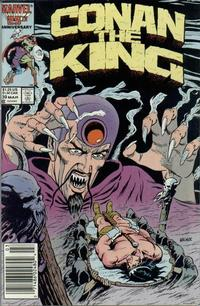 Cover Thumbnail for Conan the King (Marvel, 1984 series) #39 [Newsstand Edition]