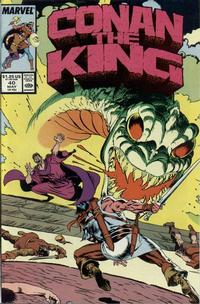 Cover Thumbnail for Conan the King (Marvel, 1984 series) #40 [Direct Edition]