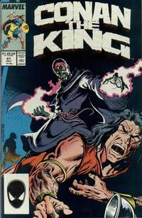 Cover Thumbnail for Conan the King (Marvel, 1984 series) #41 [Direct Edition]