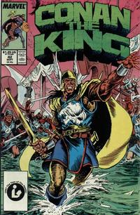 Cover Thumbnail for Conan the King (Marvel, 1984 series) #42 [Direct Edition]