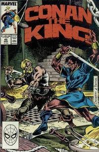 Cover Thumbnail for Conan the King (Marvel, 1984 series) #45 [Direct Edition]