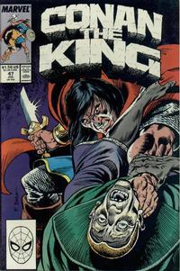 Cover Thumbnail for Conan the King (Marvel, 1984 series) #47 [Direct Edition]