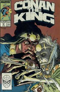 Cover Thumbnail for Conan the King (Marvel, 1984 series) #53 [Direct Edition]