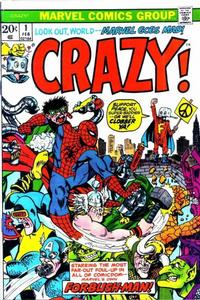 Cover Thumbnail for Crazy (Marvel, 1973 series) #1