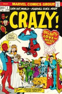Cover Thumbnail for Crazy (Marvel, 1973 series) #2