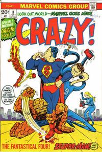Cover Thumbnail for Crazy (Marvel, 1973 series) #3